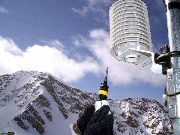 Clothing Temperature Sensor Inserting a Temperature Sensor