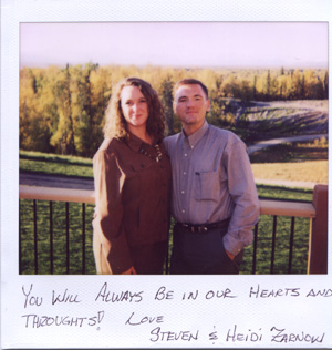Kristin's childhood friend Heidi with husband Steve